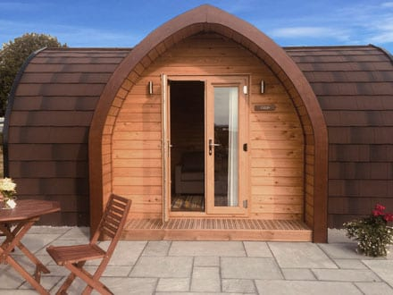 Cowslip Pod - Bradley Hall Rural Escapes - Glamping in Cheshire