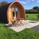 Meadowsweet Pod at Bradley Hall Rural Escapes - Glamping in Cheshire