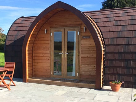 Meadowsweet Pod - Bradley Hall Rural Escapes - Glamping in Cheshire
